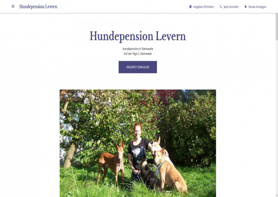 Hundepension Levern