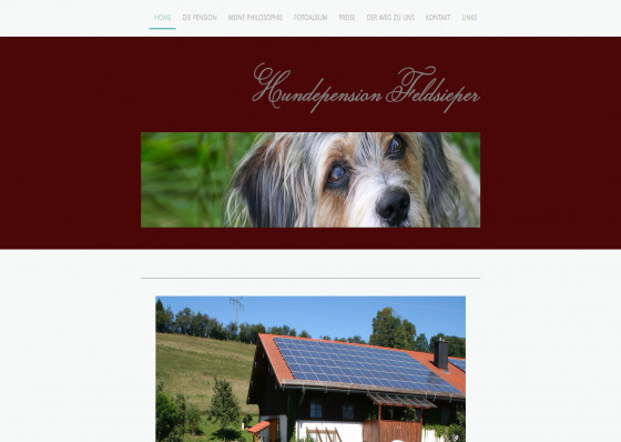 Die Hundepension Feldsieper