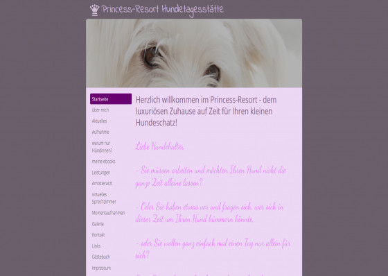 Hundetagesstätte Princess-Resort